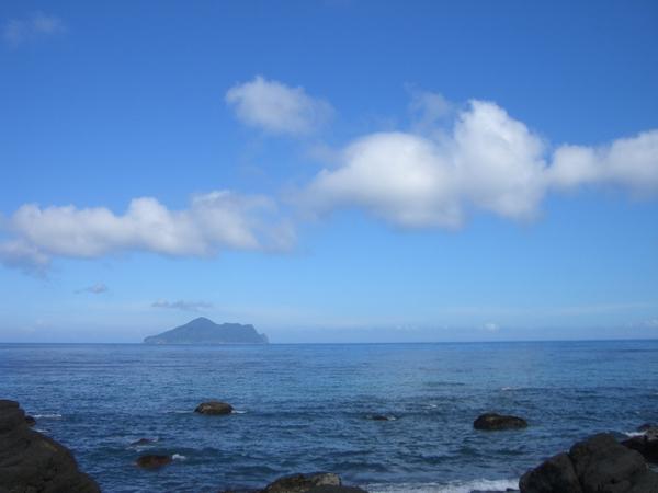 天空好美麗唷~海水也好藍,台灣真美麗