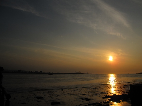 還是夕陽~