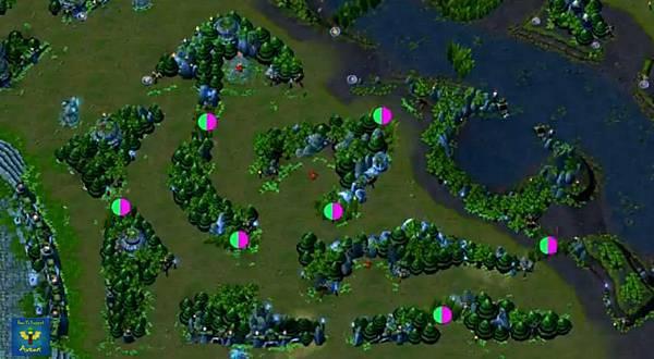 藍方中下野區