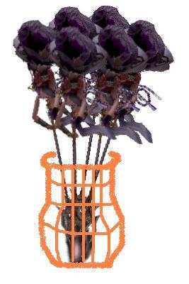 花盆裡的一束花.JPG