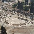 迪翁尼索斯劇場俯瞰圖