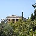 Temple of Hephaistos 海法斯提歐神殿前側