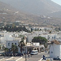回首Paros港口