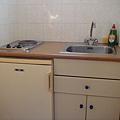 簡易的廚房