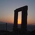 從 Gate of Apollo 看夕陽