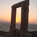 從 Gate of Apollon 看夕陽