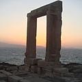 在 Temple of Apollo 上看夕陽