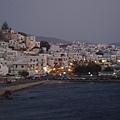 在 Temple of Apollo 上往回看 Naxos