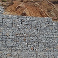 路邊的大理石磚