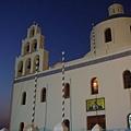 教堂的夜景