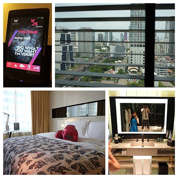 w hotel room