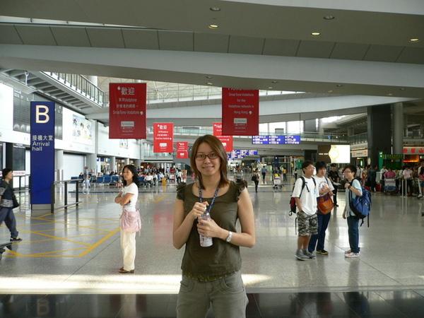 香港的赤臘機場