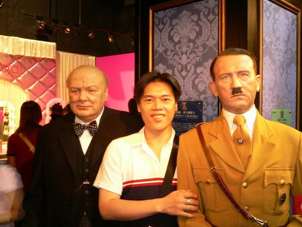 希特勒跟羅斯福