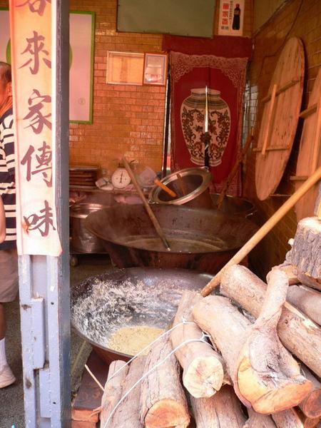 熱騰騰的煮冬瓜大鍋