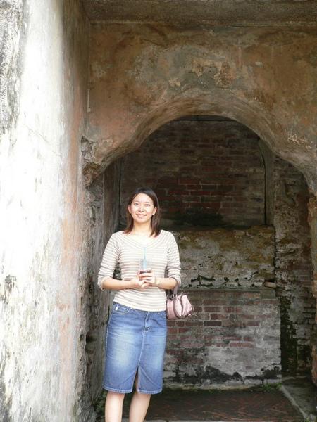 荷蘭人造的普羅民遮城堡門