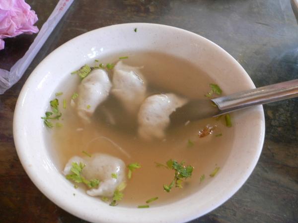 台南名產-浮水魚羹