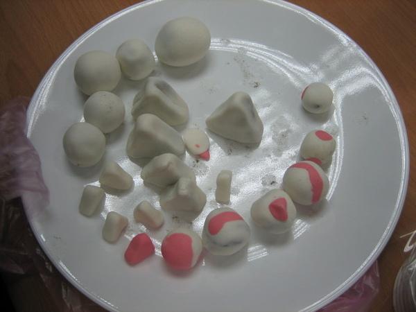 三角形的湯圓們