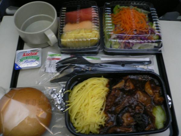 聯合航空的飛機餐