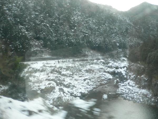 飄雪的風景