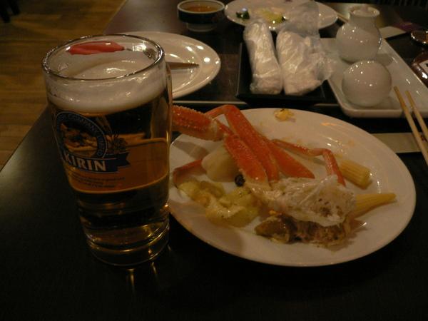 第一天的晚餐