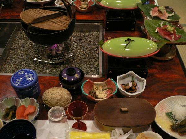 燒岳溫泉-會席料理