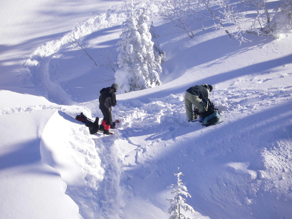 北阿爾卑斯山-有人要去爬山..好猛..