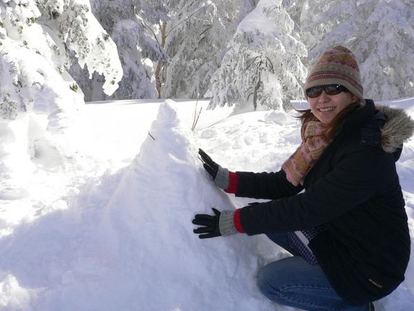 北阿爾卑斯山-小雪人