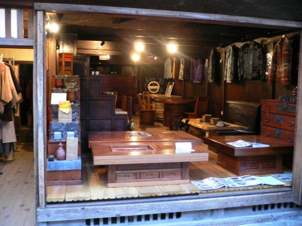 妻籠宿-古代的家具店..