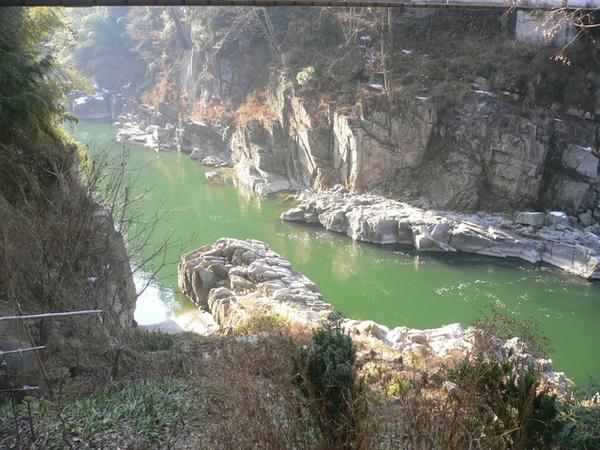 天龍峽遊船-遠眺