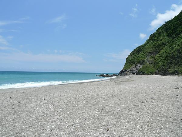 好美的沙灘