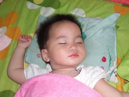 嗯!!睡得好香