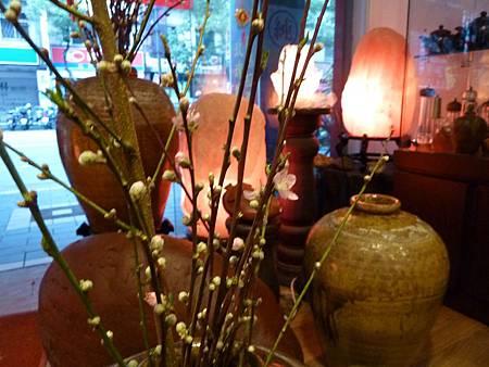 鹽燈與桃花