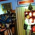 台視新聞記者訪問象山第一站陳淑芬,談:「如何分辨鹽燈品質與鹽燈安全電線?」