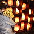 鹽燈寶寶與象山第一站玫瑰鹽燈