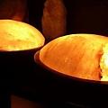 飛碟鹽燈溫暖手腳,讓身心更溫暖!
