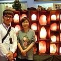 台視新聞記者訪問象山第一站陳淑芬談「如何選擇鹽燈和安全電線」