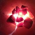 聚寶盆鹽燈