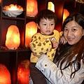 鹽燈寶寶與媽咪在象山第一站