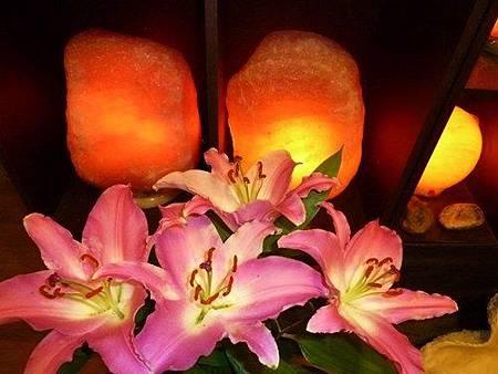 鹽燈如生命之花朵  喜馬拉雅山玫瑰鹽燈在象山第一站 綻放生命的光彩