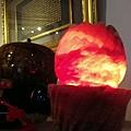 鴿血紅鹽燈蓮花形狀