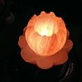 蓮花鹽燈 連續發財