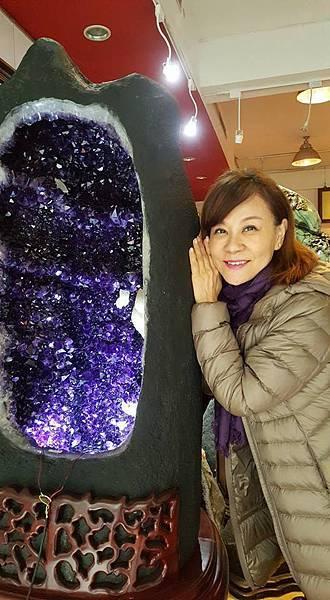 龍千玉與象山第一站紫晶洞