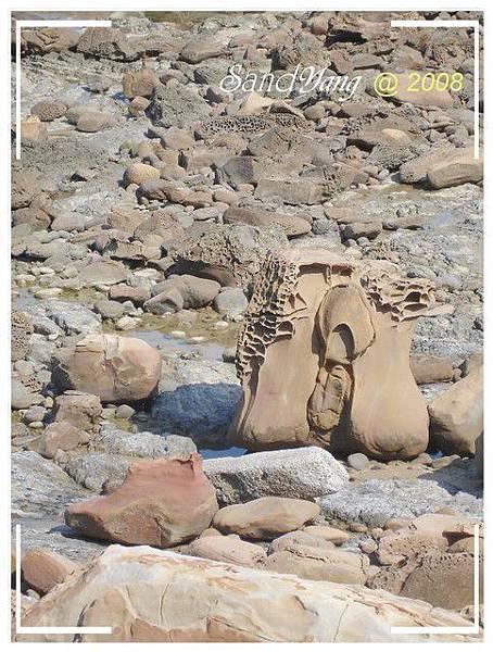 處女石(拖鞋?)
