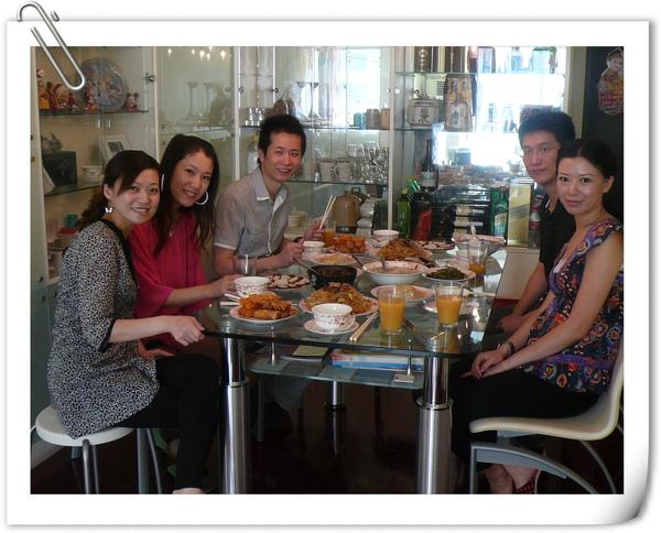20091002上海家裡餐會