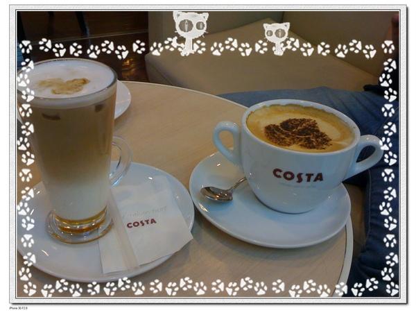 【COSTA】喝下午茶