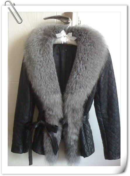 狐狸毛皮衣