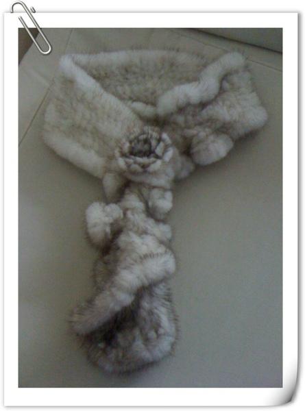 水貂毛圍巾