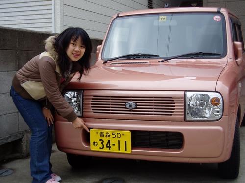 在北海道看到的車子都好可愛喔