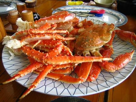 第二天的螃蟹吃到飽