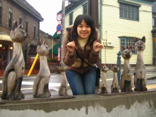 木雕--貓